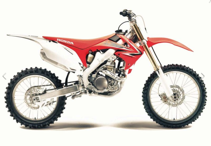 motorcycle photo HONDA - CRF 250R(2015) MX