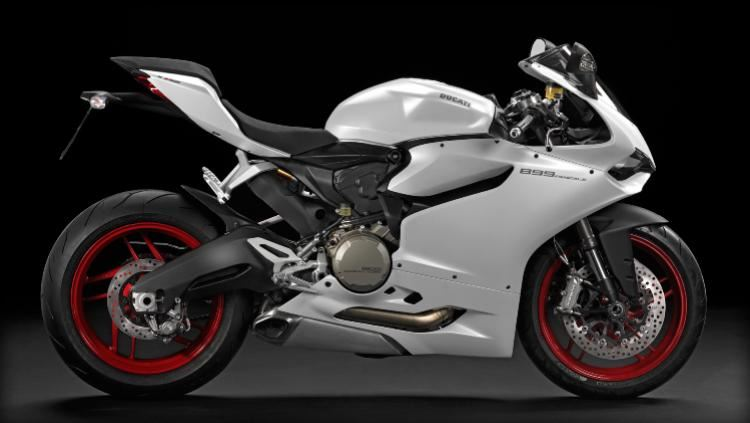 motorcycle photo DUCATI - 899 PANIGALE White(2015) SPORT