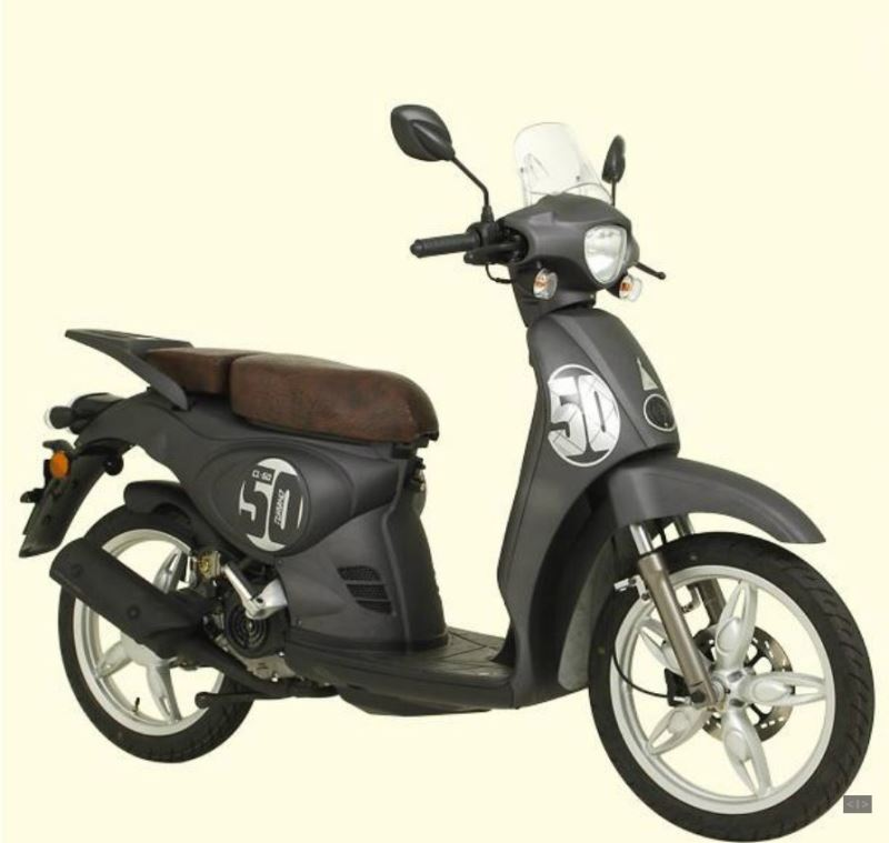 motorcycle photo TURBHO - CL 50(2015) SCOOTER