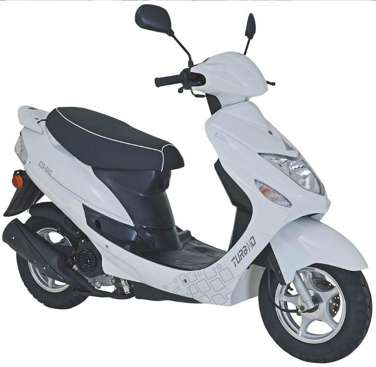 motorcycle photo TURBHO - CS 50 4T(2015) SCOOTER