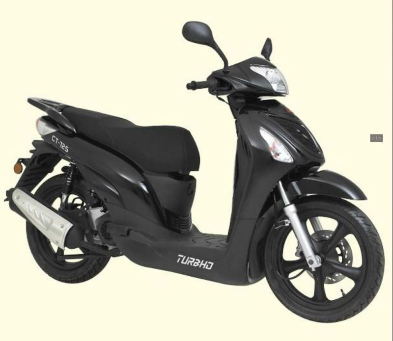 motorcycle photo TURBHO - CT 125(2015) SCOOTER