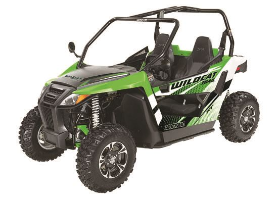 motorcycle photo ARCTIC CAT - WILDCAT TRAIL XT 700(2015) BUGGY