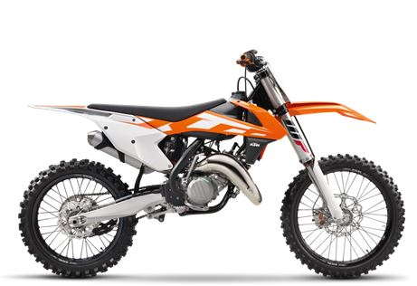 motorcycle photo KTM - 150 SX(2016) MX