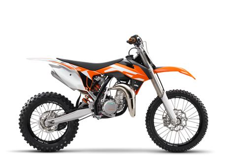 motorcycle photo KTM - 85 SX(2016) MX