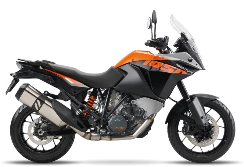 motorcycle photo KTM - 1050 ADVENTURE ABS(2016) ON-OFF