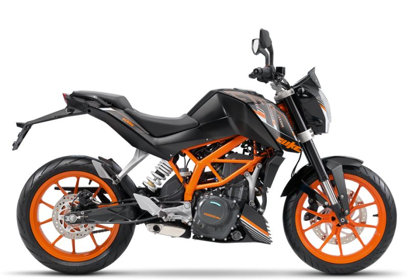 motorcycle photo KTM - 390 DUKE ABS (2016) STREET