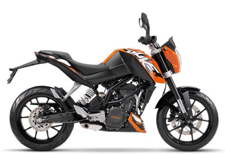 motorcycle photo KTM - 125 DUKE ABS(2016) STREET