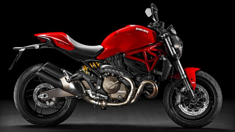 motorcycle photo DUCATI - MONSTER 821(2016) STREET
