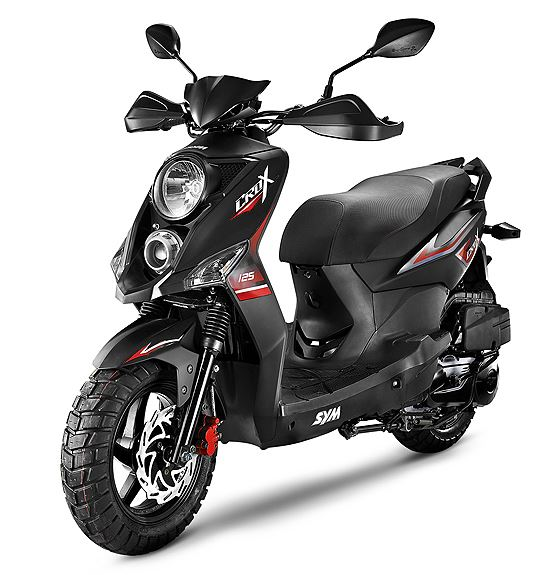 motorcycle photo SYM - CROX 50(2016) SCOOTER