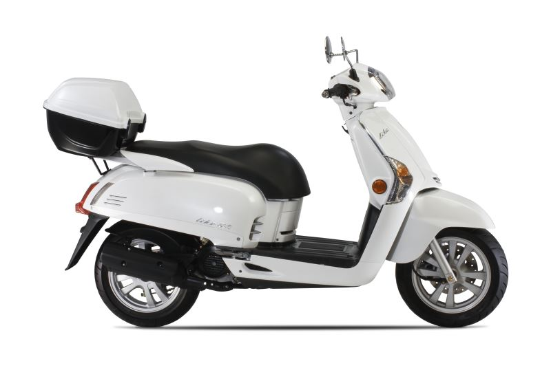 motorcycle photo KYMCO - LIKE 200i TOPCASE(2016) SCOOTER
