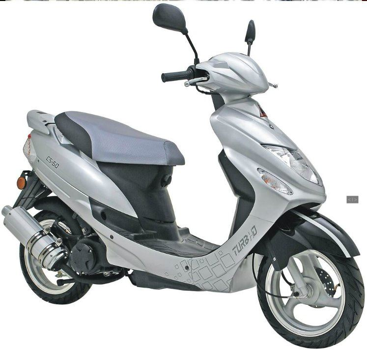 motorcycle photo TURBHO - CS 50 4T(2016) SCOOTER