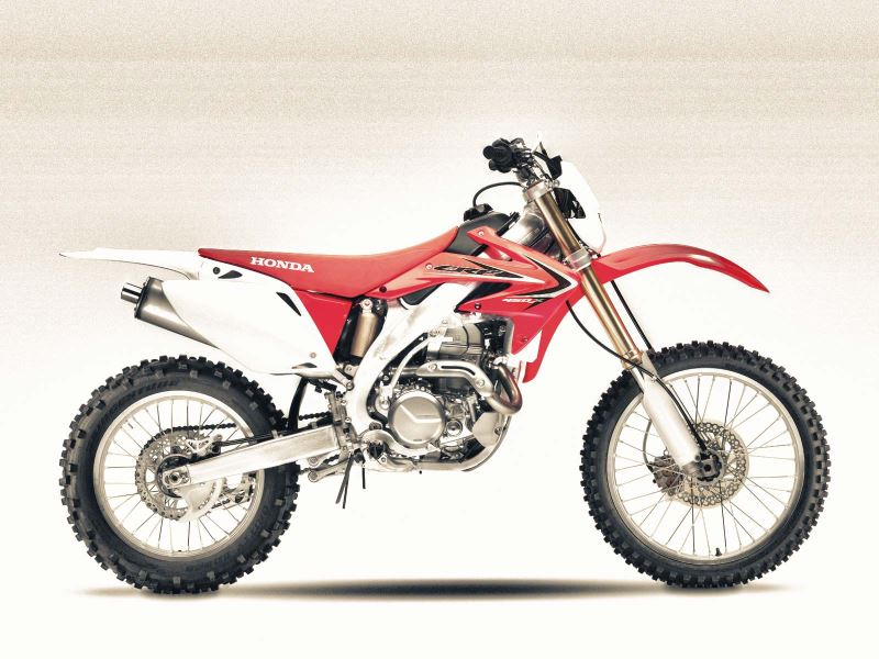 motorcycle photo HONDA - CRF 450X(2016) ENDURO