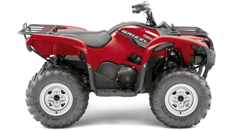 motorcycle photo YAMAHA - GRIZZLY 550 EPS (2016) ATV