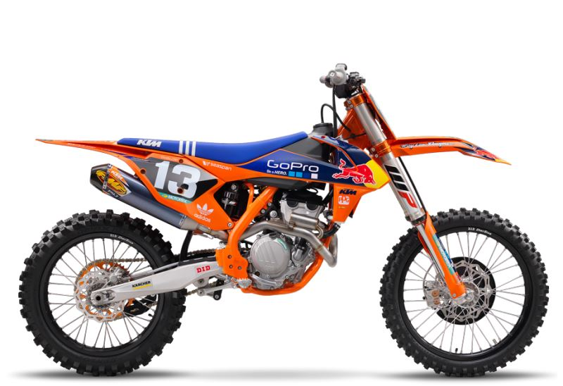 motorcycle photo KTM - 250 SX-F FACTORY EDITION(2016) MX