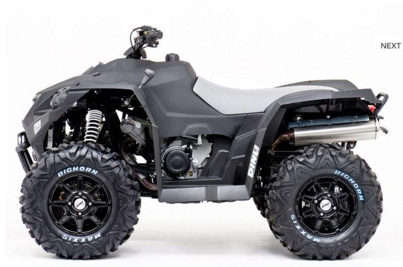 motorcycle photo DINLI - CENTHOR EVO 800 EFI Sport(2016) ATV