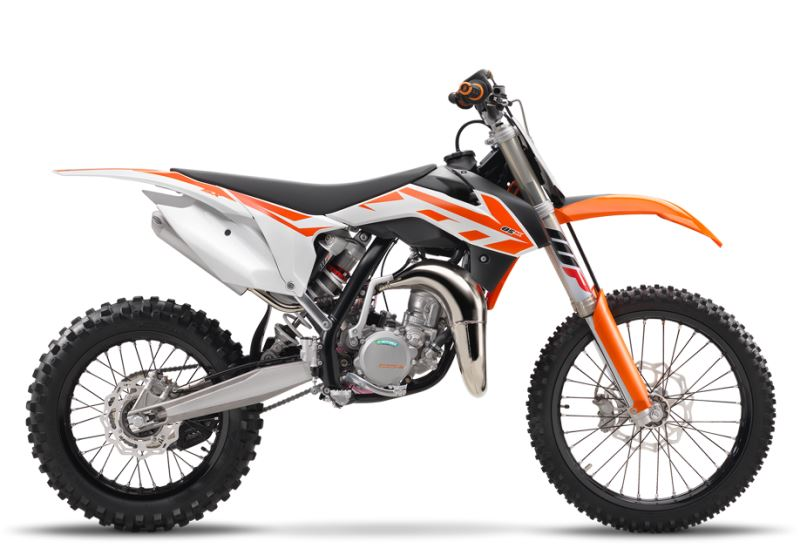 motorcycle photo KTM - 85 SX 19-16(2017) MX