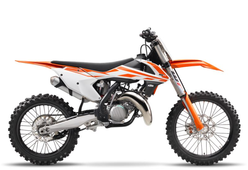 motorcycle photo KTM - 125 SX(2017) MX