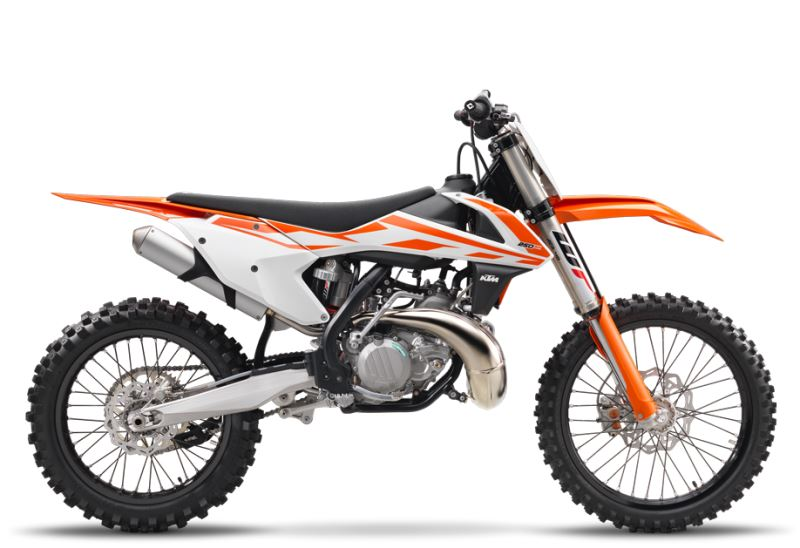 motorcycle photo KTM - 250 SX(2017) MX