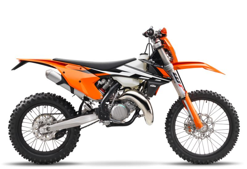 motorcycle photo KTM - 125 XC-W(2017) ENDURO