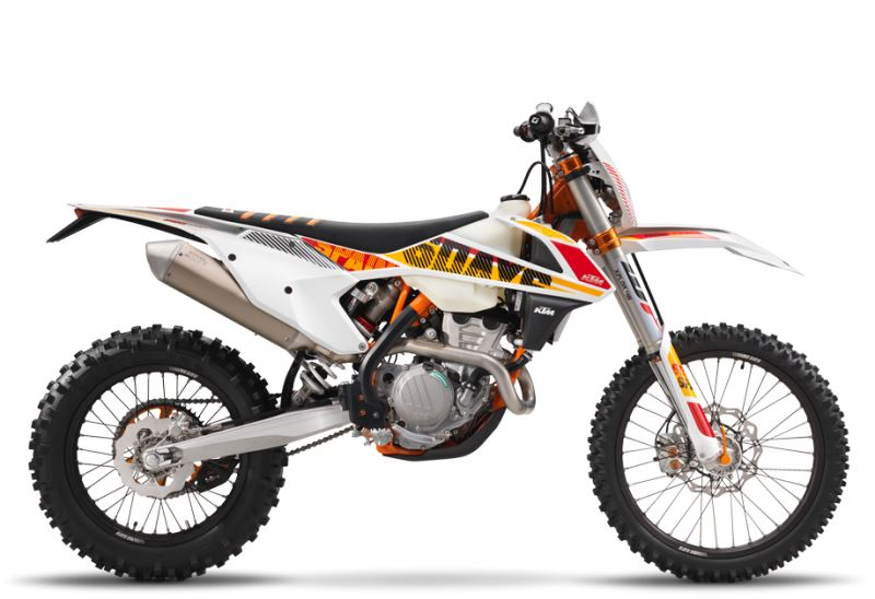 motorcycle photo KTM - 350 EXC-F SIX DAYS(2017) ENDURO