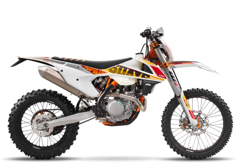 motorcycle photo KTM - 450 EXC-F SIX DAYS(2017) ENDURO