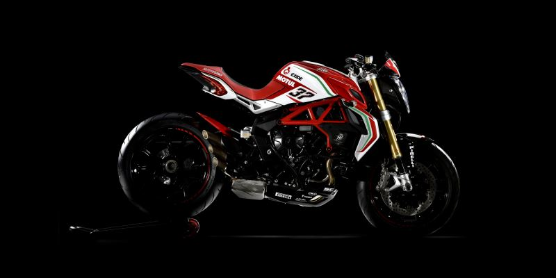 motorcycle photo MV AGUSTA - BRUTALE DRAGSTER 800 RC(2017) STREET