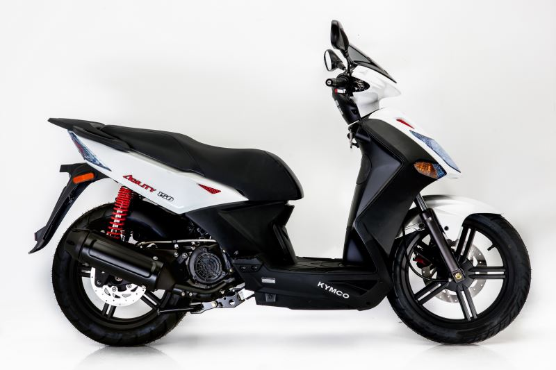 motorcycle photo KYMCO - AGILITY CITY 125(2017) SCOOTER