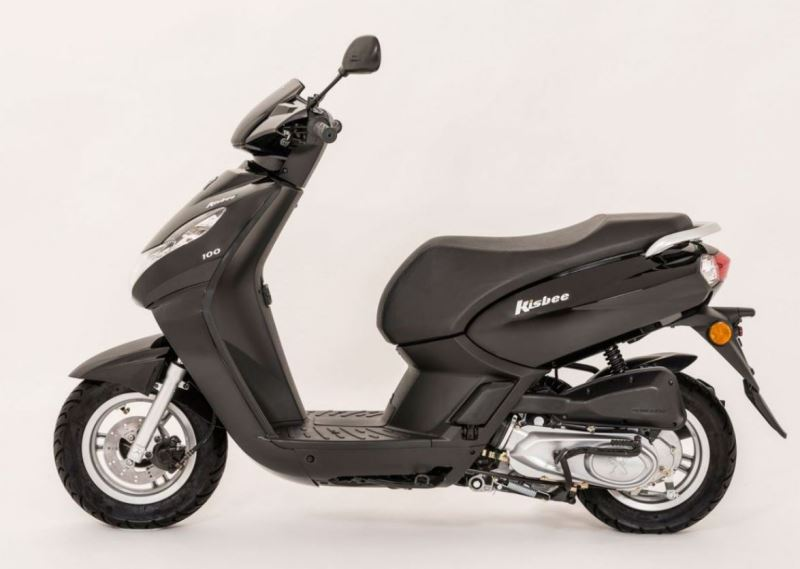 motorcycle photo PEUGEOT - KISBEE 100(2017) SCOOTER