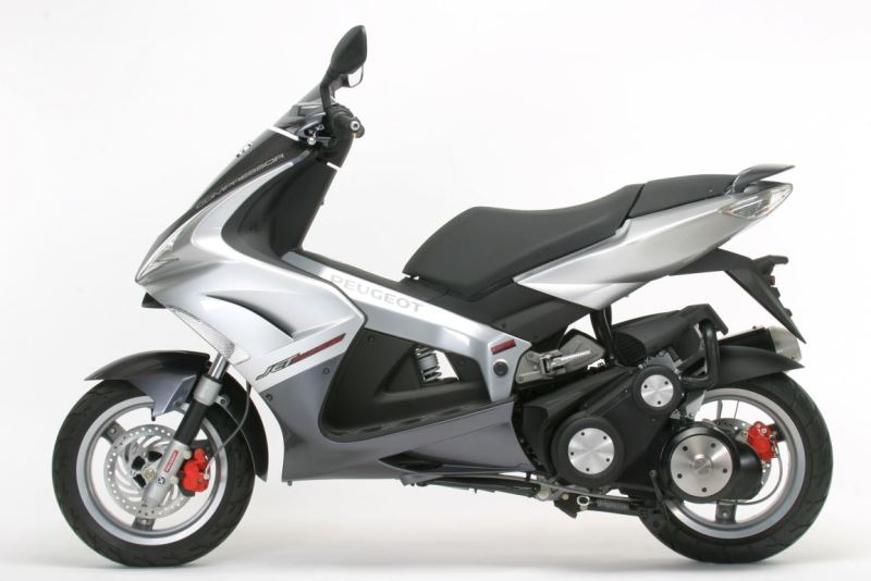 motorcycle photo PEUGEOT - JET FORCE 125 COMPRESSOR(2017) SCOOTER