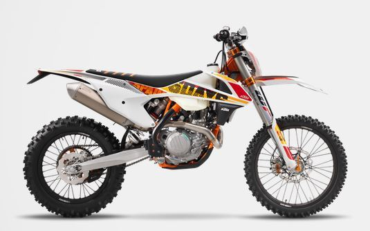motorcycle photo KTM - 500 EXC-F SIX DAYS(2017) ENDURO