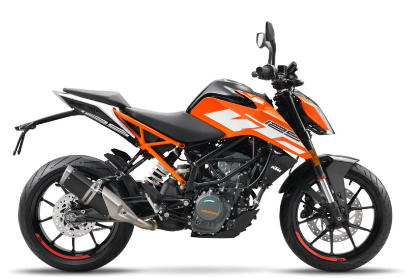 motorcycle photo KTM - 125 DUKE ABS(2017) STREET
