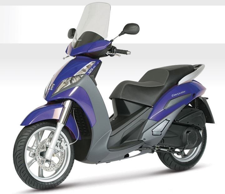 motorcycle photo PEUGEOT - GEOPOLIS 125(2018) SCOOTER