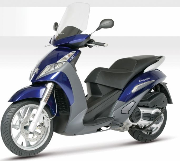 motorcycle photo PEUGEOT - GEOPOLIS 400(2018) SCOOTER