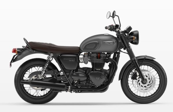 motorcycle photo TRIUMPH - BONNEVILLE  T120 BLACK(2018) CUSTOM