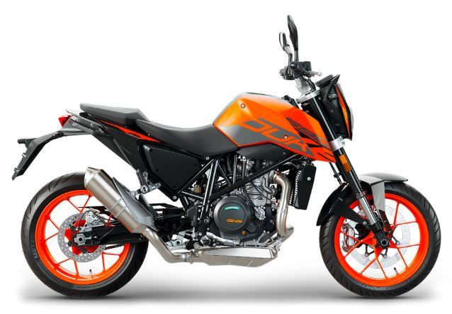 motorcycle photo KTM - 690 DUKE(2018) STREET