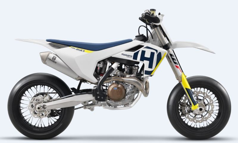 motorcycle photo HUSQVARNA - FS 450(2018) SUPERMOTO