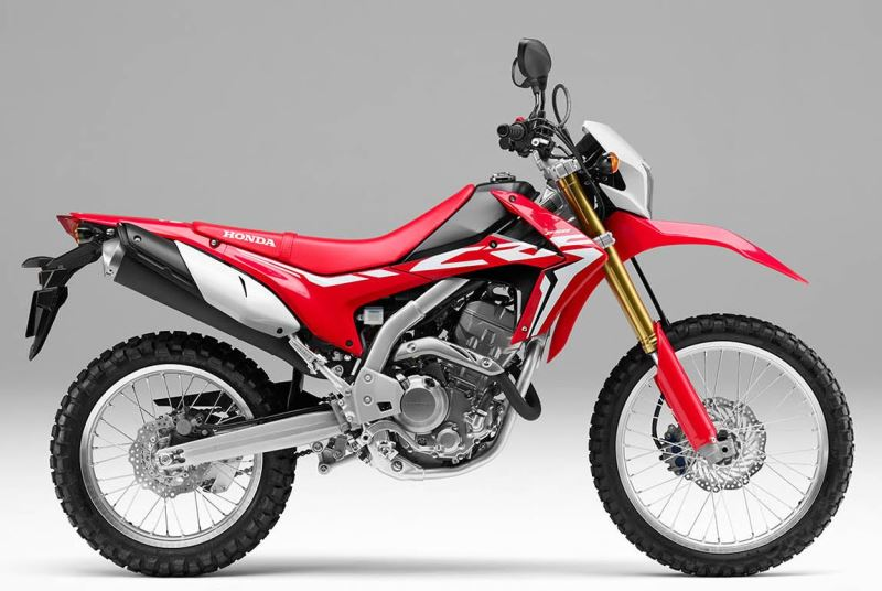 Honda Crf 250l 2018 249cc Enduro Price Specifications Videos