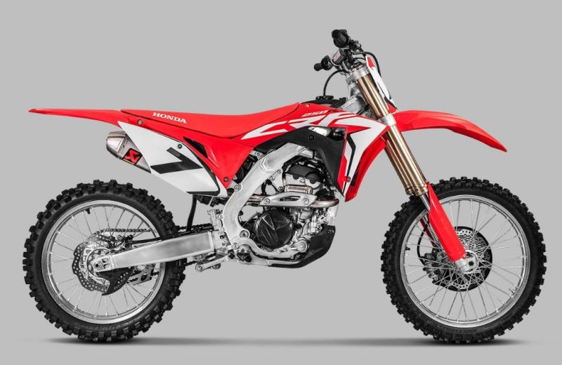 motorcycle photo HONDA - CRF 250R(2018) MX