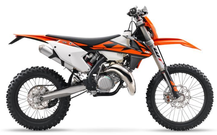 motorcycle photo KTM - 125 XC-W(2018) ENDURO