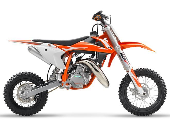 motorcycle photo KTM - 50 SX(2018) MX