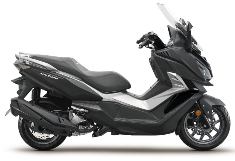 motorcycle photo SYM - CRUISYM 300i F4 ABS(2018) SCOOTER