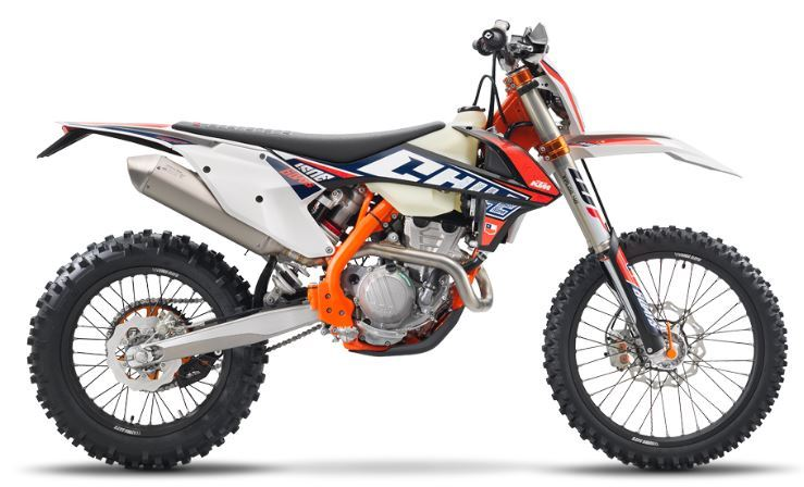motorcycle photo KTM - 250 EXC-F SIX DAYS(2019) ENDURO