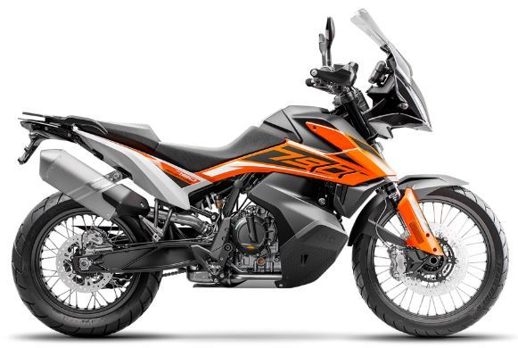 motorcycle photo KTM - 790 ADVENTURE(2019) ON-OFF