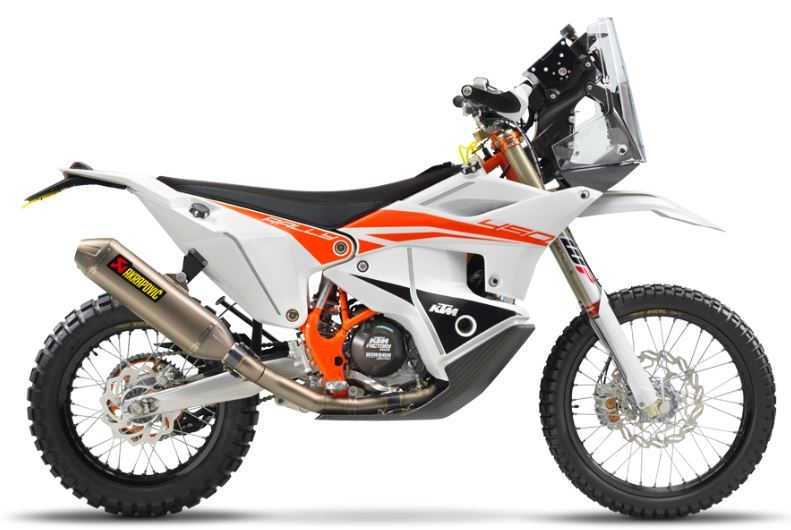 motorcycle photo KTM - 450 RALLY FACTORY REPLICA(2019) ENDURO
