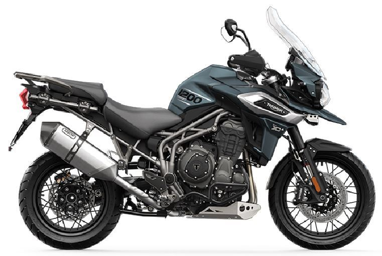 motorcycle photo TRIUMPH - TIGER 1200 XCA(2019) ON-OFF