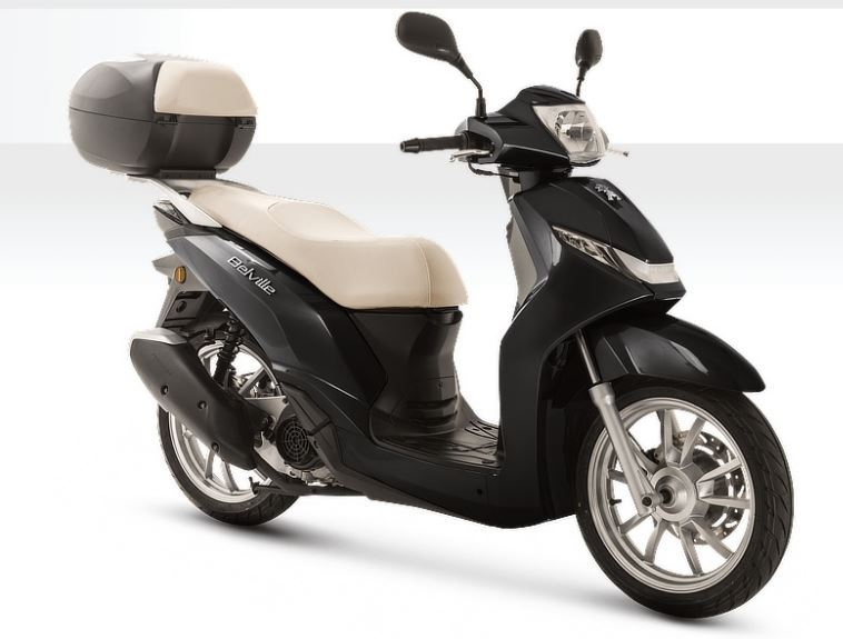 motorcycle photo PEUGEOT - BELVILLE 200i ABS TOPCASE(2019) SCOOTER
