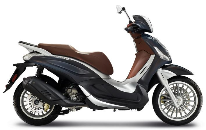motorcycle photo PIAGGIO - BEVERLY 300 ABS ASR(2019) SCOOTER