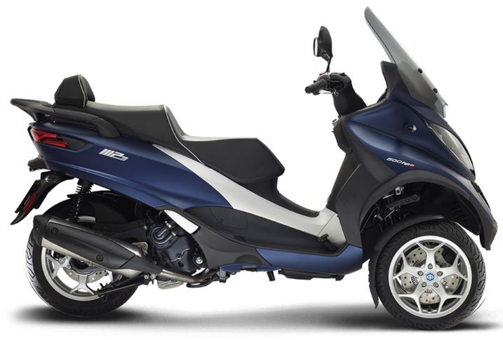 motorcycle photo PIAGGIO - MP3 500 HPE BUSINESS ABS ASR(2019) SCOOTER