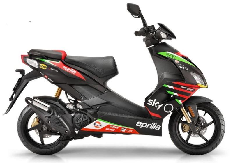 APRILIA SR 50 R GP Replica 2020 49cc SCOOTER price ...