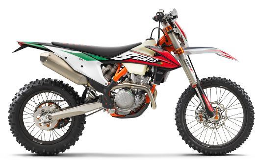 motorcycle photo KTM - 350 EXC-F SIX DAYS(2020) ENDURO